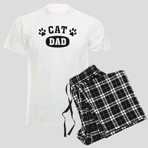 Cat Dad [b/w] Men's Light Pajamas